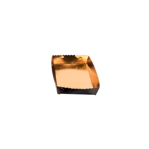 Dessert tray 130x90x35mm gold-black