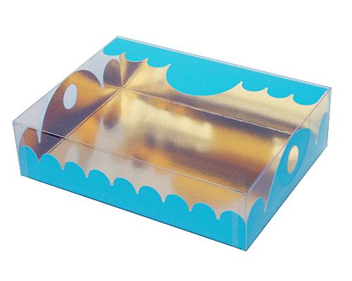 box Marquis rectangular large lagune laque