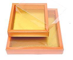 Windowbox 126x126x24mm interior orange