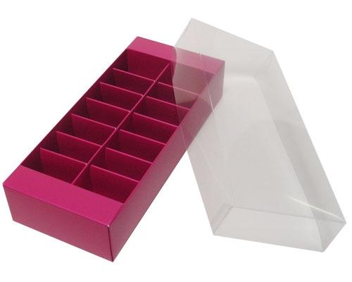 Macaron box 14 division dahlia