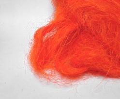 Sisalgras appr. 250 gr. in bag orange