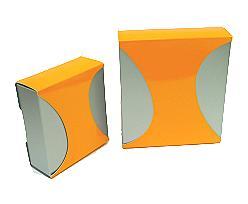 Box Dali large Duo Monaco silver orange