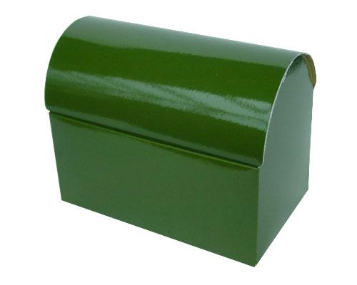 koffer 1000 gr 195x115x135mm vert foret laque