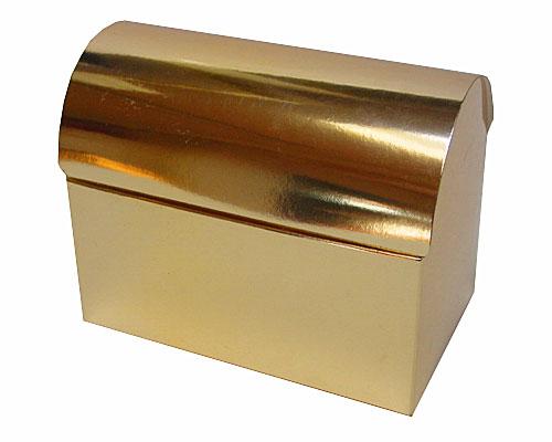 koffer 500gr 150x90x110mm shiny gold
