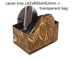 halfmoontray cacao, bronztwist