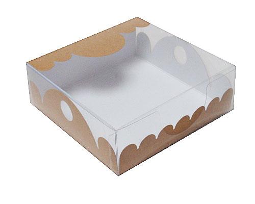 box Marquis square small kraft-brown