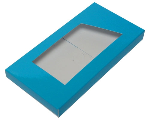 Box for chocolate bar lagune laque