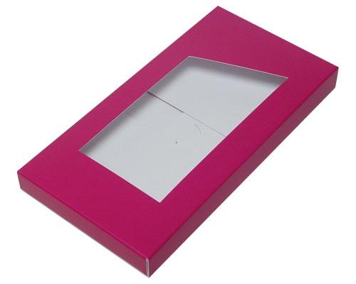Box for chocolate bar dahlia