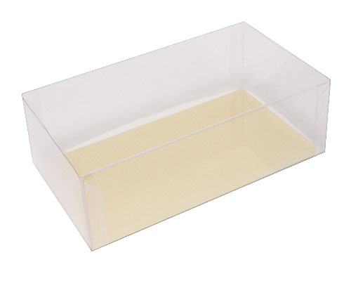 Box PVC L160xW90xH50mm transparant