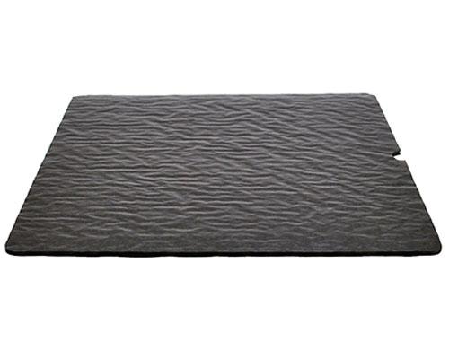 Cushion pad 245x245mm brown
