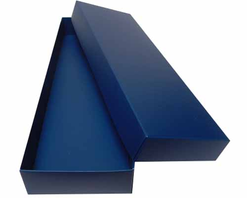 Sleeve-me box without sleeve 280x93x30mm interior blueberry blue