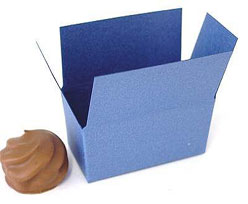 Box 2 choc, bluetwist