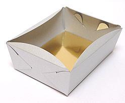 patisserie tray min. total quantity 600 pcs! /in m silvertin