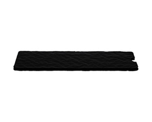 Cushion pad 180x62mm black