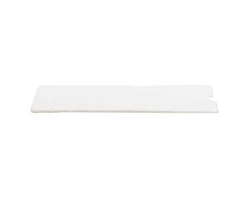 Cushion pad 180x62mm white