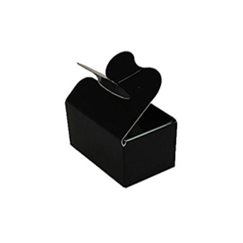 Box 2 choc butterfly closing noir laque