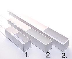 truffelbox 4 112x30x30mm crystal