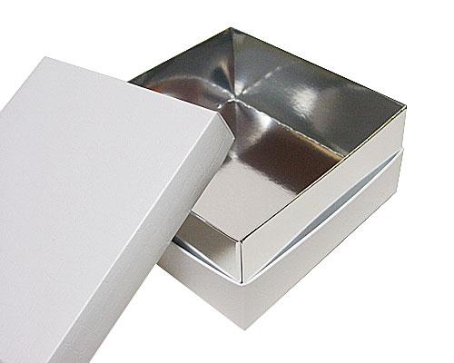 Balloboîte white carré L125xW125xH50mm sidney