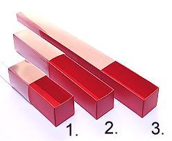 truffelbox 8 225x30x30mm red