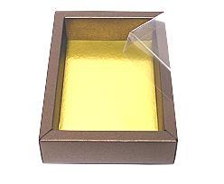 Windowbox 130x90x30mm interior bronztwist