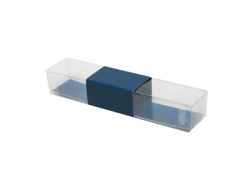 PVC L150xW30xH25mm blueberry blue with sleeve