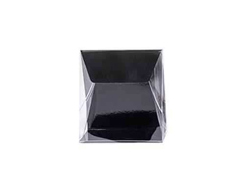 Pochette transparant L100xW50/H110mm black