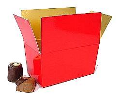 Ballotin 1000 gr. rouge laque