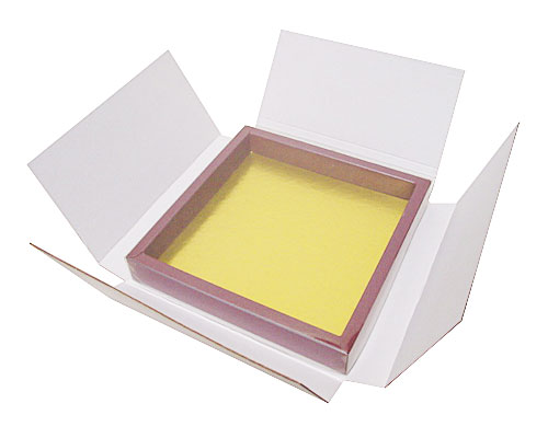 Shipping box in white for the size 175x175x25mm windowbox