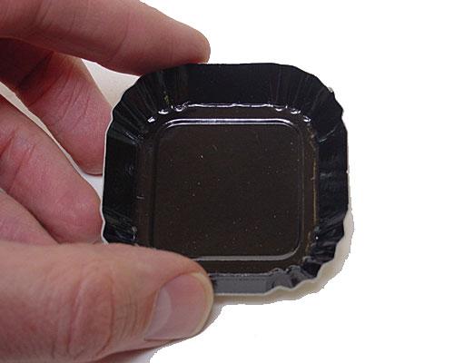 Bordje square 55x55mm black