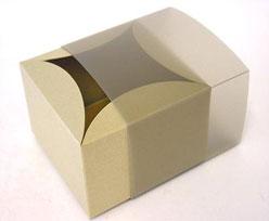 bilbao small 80x80x50mm goldbeige brown