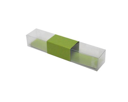 PVC L150xW30xH25mm kiwi green with sleeve