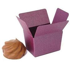 Box 1 choc, aubergine
