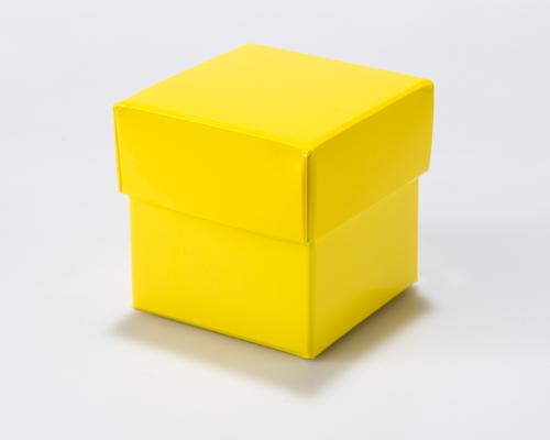 Cubebox 50x50x50mm Jaune laque