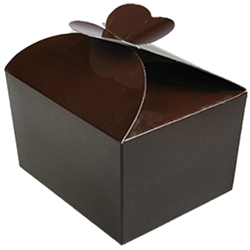 Box 500 gr Butterfly chocolat laque