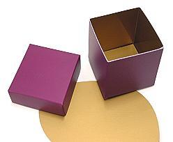 Cubebox appr.500 gr. Duo Djerba purple-copper