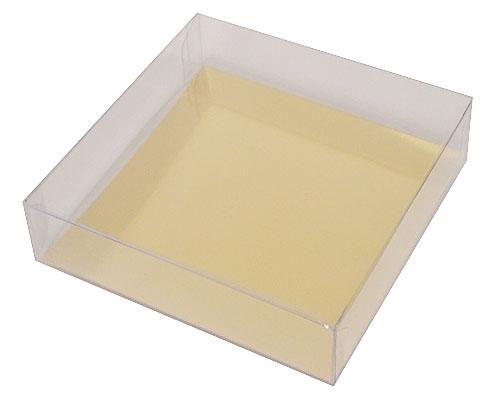 PVC L120xW120xH30mm transparant