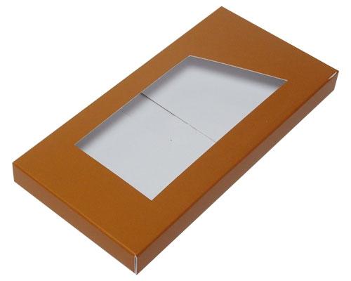 Box for chocolate bar hazelnut