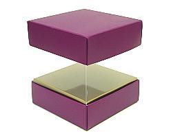 Skylinebox L100xW100xH100mm exterior Djerba Purple-copper