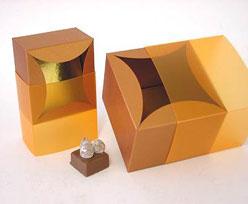 bilbao small 80x80x50mm coppertin orange