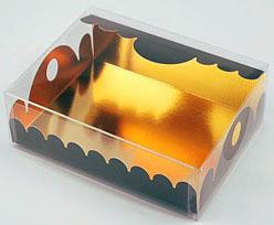box Marquis rectangular large chocolat laque
