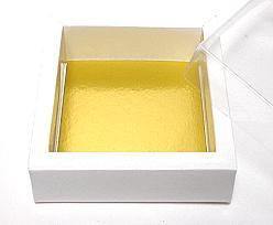 Windowbox 90x90x30mm interior white shine