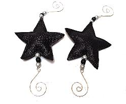 ster hanger glitter