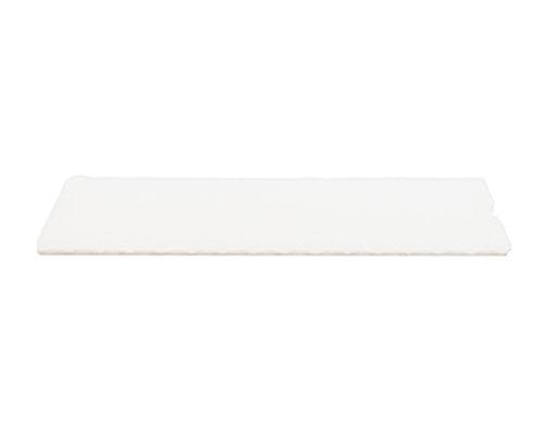 Cushion pad 235x92mm white