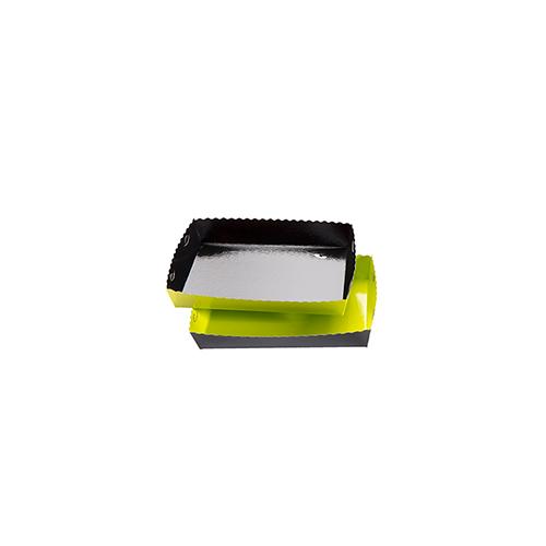 Dessert tray 130x90x35mm green-black
