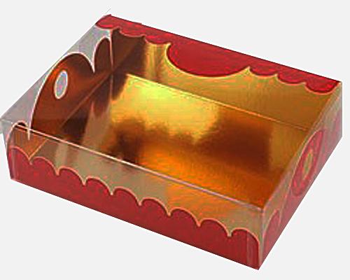 box Marquis rectangular large brique laque