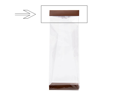 Arosa clip 120mm brown