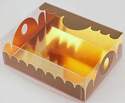 box Marquis rectangular large vert foret laque