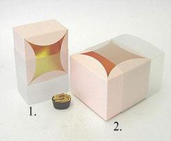 bilbao large 100x100x70mm pink neutral