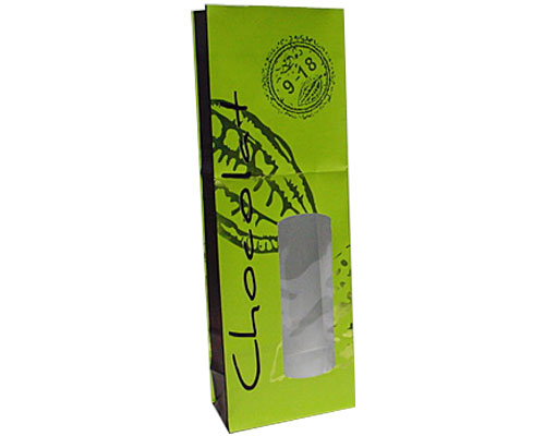 Bag Cacao chocolate middle appr. 250 grams green brown