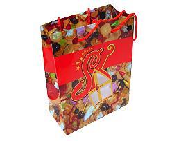 Sugar saint paperbag large red